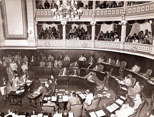 1988 Interpelación en la Legislatura de la Bs As